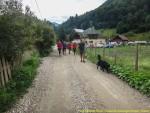 Pe drum in Valea Cheii
