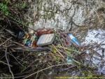 Garden of trash in Cheita Cheii