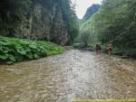Pe apa la vale - Cheile mari ale Dambovitei