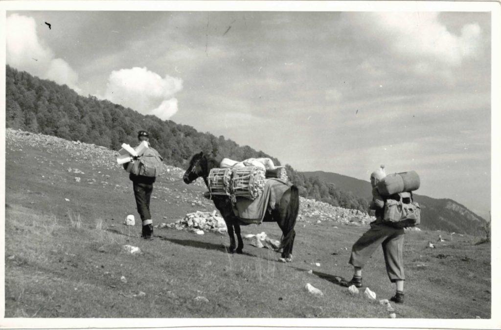 Marș de apropiere - Expediatia Avenul Funduri 1967