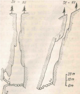 Schiţa Avenului Grindului. (după A. Prox, completată de F r. T homas).